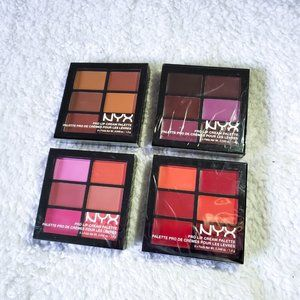 Lot of NYX Pro Lip Cream Palettes